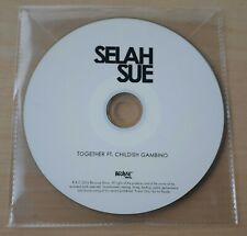 SELAH SUE FT. CHILDISH GAMBINO Together 2016 French 1-track promo test CD