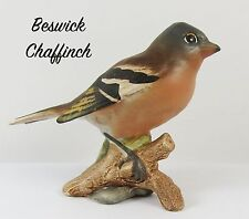 Lovely Vintage Beswick Bird 991  ~ The Chaffinch Matt finish