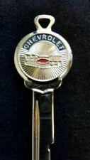 CHEVROLET SUNBURST Crest KEY Blank 1970 1974 78 82 Vintage Chevelle Camaro Nova