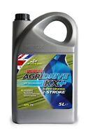 Kerax AgriDrive KX+ Mineral Two Stroke 2 Stroke Engine Oil 5 Litre 5L