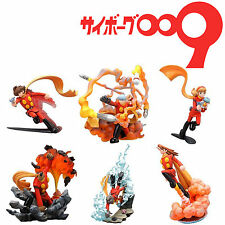 Cyborg 009 Soldier Vignette Set Completo 6 Personaggi Figure Originale Kaiyodo