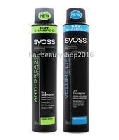 Syoss Professional Dry Hair Shampoo Volume Lift, Anti-Grease Brush Out 200ml