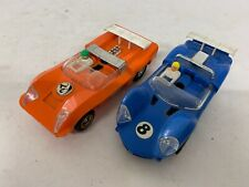 Vintage Scalextric C3-10 Javelin And C4-11 Electra Good Condition