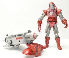IRON MAN Silver Centurion Marvel Legends Toy Biz Action Figure great shape