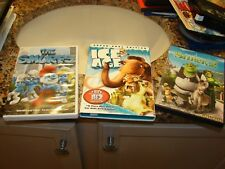LOT OF 2 DVDS FOR CHILDREN:ICE AGE/THE SMURFS GREAT FAMILY SHOWS