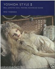 Ryo Yoshida Style II Ball Jointed Doll Making Guide Book 2 Technical How to JPN