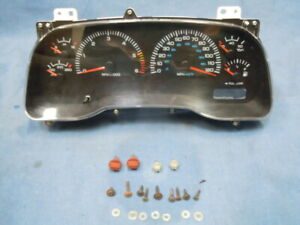 99-2000/2001/2002/2003-04 Dodge Dakota Speedometer Gauge Cluster Mileage 135,126