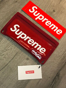 Supreme Sealline Waterproof Case Red W/ Sticker
