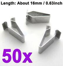 50x Clips Para Fiat Doblo Cubierta del panel de moldeo por lado exterior tira de plástico blanco