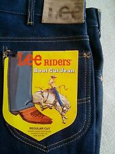 Vintage USA Lee Riders Boot Cut Cowboy Jeans 38x30