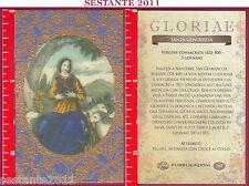 C160 SANTINO HOLY CARD S. SANTA GENOVEFFA VERGINE CONSACRATA 3 GENNAIO