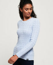 Superdry Womens Croyde Bay Cable Knit Jumper