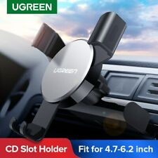 Ugreen CD Slot Phone Holder Cradle Gravity Self-Locking Car Mount for Samsung S9