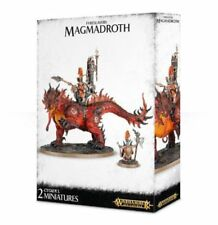 Miniature fyreslayers per gioco di strategia Warhammer Fantasy Battle