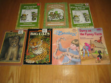 Lot 7 Early Readers Level 2 Step into Reading, All Aboard, I Can Read FREE SHIP
