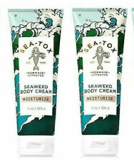 2 Bath Body Works SEA TOX - Seaweed Cream Moisturize 8 oz Mermaid Approved New