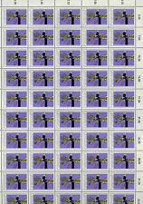Austria 1975 Car Safety Belt Campaign MNH Complete Full Sheet #V3752