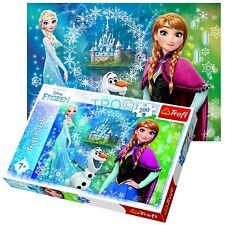 Trefl 200 Piece Girls Disney Frozen Sisters Anna Elsa Olaf Jigsaw Puzzle NEW