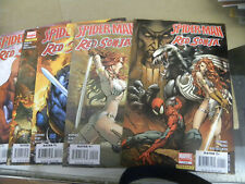 Dynamite 2007 all 5 issues SPIDER-MAN RED SONJA 1 2 3 4 5  zm