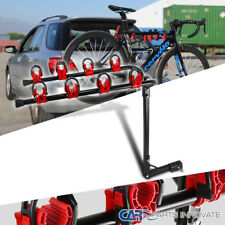 "4 Bike Rack Auto Truck TraiLer 1 1/4 & 2"" Hitch Bicycle Hodler"
