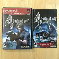 Resident Evil 4 Playstation 2 PS2 Complete CIB Manual Tested Cleaned Fast Ship