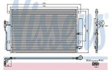 NISSENS Condensador, aire acondicionado OPEL VOLKSWAGEN PASSAT RENAULT 94917