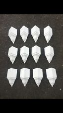 """Crown Molding Corners 12 pack of inside BLEMS for up to 3 5/8"""" transition"""