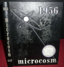 1956 Microcosm, City College of New York.  CCNY 1956 Year Book