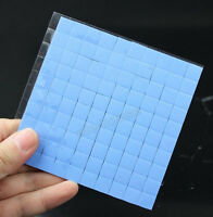 100pcs 10 x 10 x 1mm 10mm IC Chip Thermal Conductive Pads Heatsink Silicone Pad