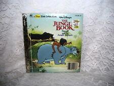 FIRST LITTLE GOLDEN BOOK WALT DISNEY'S THE JUNGLE BOOK BY CINDY WEST 1990