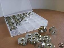 Spulenbox mit 25 Unterfaden-Spulen aus Metall geeignet für Pfaff