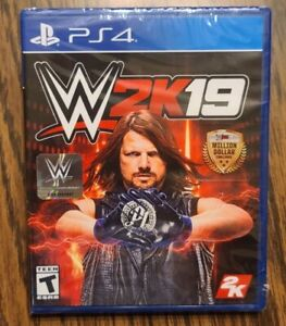 WWE 2K19 PS4 PlayStation 4 Brand New Sealed
