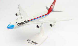 Aircraft vehicles road Models Herpa Boeing 747-8F Cargolux For collection
