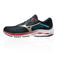 Mizuno Mens Wave Rider 24 Running Shoes Trainers Sneakers Black Sports