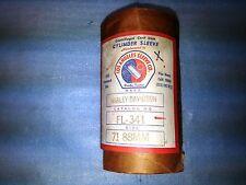 LA SLEEVE FL341 CAST IRON CYLINDER LINER HARLEY DAVIDSON SX250 1975 VINTAGE
