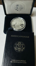 1995-P Proof Silver American Eagle with box  (#13I)