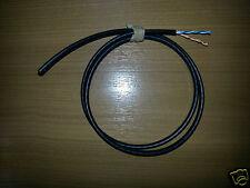 10m Metri Bt SPEC 2 COPPIA NERO TELEFONO CAVO CAT5E ESTERNA (4core) cw1412