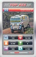 Auto revue race truck 9x6cm trade card TOP ASS D2 GINAF X2222 SP