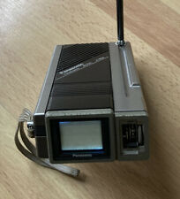 Vintage Panasonic Travelvision Model Tr-1030P Portable Micro-Tv 1983 Works