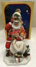 "Norman Rockwell Museum 1984 Christmas Figurine ""Space Age Santa"" Free Ship!"