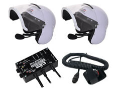 MicroAvionics intercom/radio. Integral helmets ANR-VOX. (FlyCom) Lynx compatible