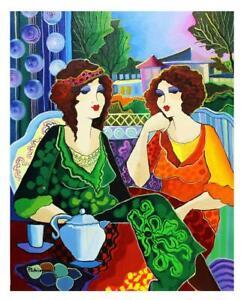 "Patricia Govezensky- Original Acrylic on Canvas ""Lina &"