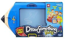 DRAW SOMETHING PARTY ELECTRONIC GAME - DRAW IT GUESS IT PASS IT HASBRO