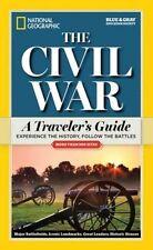 NATIONAL Geographic la guerra civile un TRAVELER'S GUIDE 9781426214899