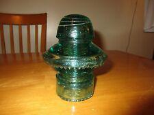 Light Aqua Green H.G. Co. Insulator CD 196, May 2 1893 Rare
