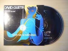 DAVID GUETTA feat BARBARA TUCKER : GIVE ME SOMETHING [ CD SINGLE PROMO ]