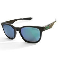 Oakley Garage Rock OO 9175-04 Polished Black/Jade Iridium Unisex Sunglasses