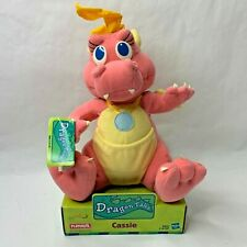 Playskool Dragon Tales Talking Light-Up Cassie Plush New Nip 1999