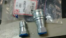 "S10-3 safeway hyd quick coupler set 3/8"" NPT ""FREE SHIPPING"""