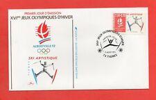 FDC 1991 - XVIe Jeux Olympiques d'Hiver - SKI - Albertville 1992   (1051)